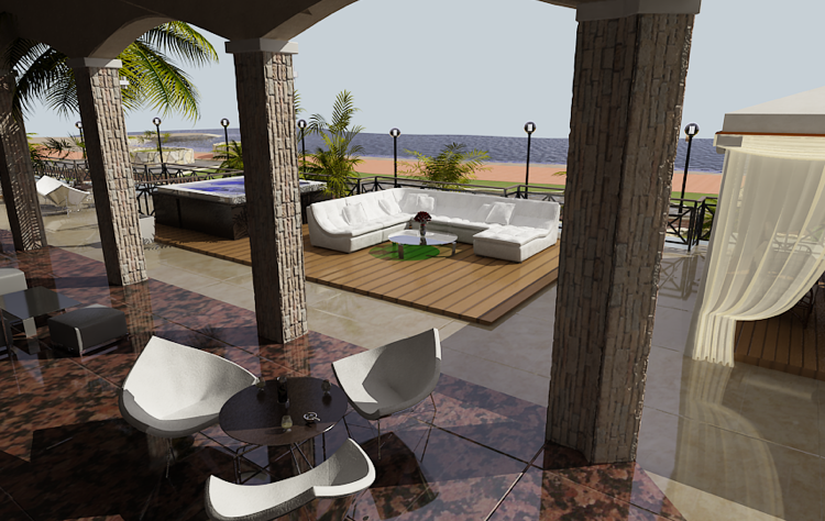 Galatex Beach Center, Duplex Apartments